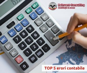 TOP 5 erori contabile Reinvent Consulting