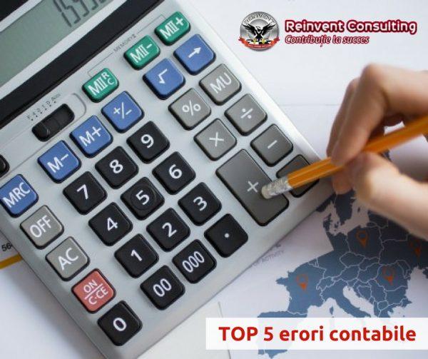 TOP 5 erori contabile Reinvent Consulting