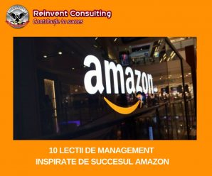 10 lectii de management inspirate de succesul Amazon Reinvent Consulting