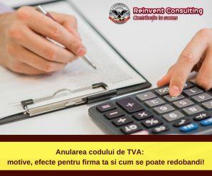 Anularea codului de TVA_ motive, efecte pentru firma ta si cum se poate redobandi!
