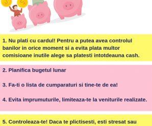 INFOGRAFIC Cum Sa Economisesti Bani Lunar_ 5 Trucuri Simple Si Eficiente Reinvent Consulting